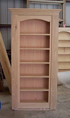 Hide A Door - Secret Doors and Passageways - Gallery 2 Woodworking Furniture Plans, Woodworking Projects Diy, Diy Wood Projects, Furniture Projects, Wood Furniture, Furniture Design, Diy Bedframe With Storage, Diy Storage, Bed Frame Design