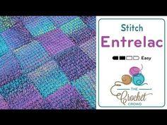 Cómo Tejer una Manta Punto Entrelac al Crochet / Tutorial Español - English tutorial   Patrones para Crochet