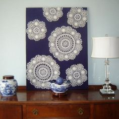10 Cool Lace Artworks You Can Make For Your Walls   Shelterness