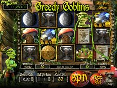 Greedy Goblins, your next online casino friends Win Up to 1200000 Credits @ MegaJackpot.com