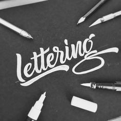 Lettering is what we love by @priska42 - Daily typography & lettering design love - #typostrate - typostrate.com