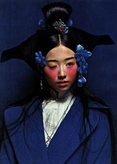 """If You Want the Rainbow, You Have to Enjoy the Rain"" by Chen Man for i-D Pre-Spring 2012"