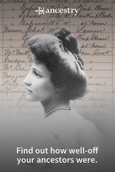 Ever wonder if you had posh ancestors? Find out. Genealogy Websites, Genealogy Chart, Genealogy Research, Family Genealogy, Black History Books, Family Search, Family History, Fun Facts, Blog