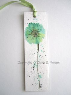 Watercolor sunflower here comes the sun Aquarell – Watercolor Bookmarks, Watercolor Projects, Watercolor Cards, Watercolor And Ink, Watercolour Painting, Watercolors, Watercolor Flowers Tutorial, Watercolor Sunflower, Creative Bookmarks