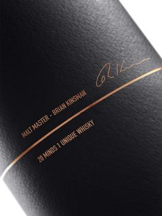 Here Design has created the packaging for a new series of whiskies from Glenfiddich.