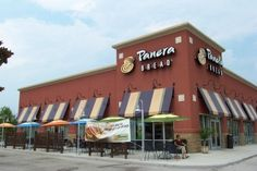 then stopping by one of my fave lunch spots for a sierra turkey or frontega chicken sandwich - panera bread restaurant