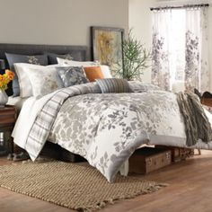 KAS® Isaak Duvet Cover - BedBathandBeyond.com-Need to convince B to have this in our bedroom