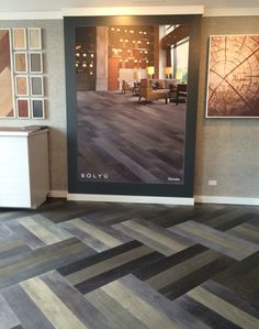 Bolyu's Chicago Showroom, NeoCon 2016 Showroom, style: Elevate (2 color pattern)