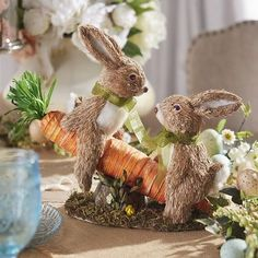 Natural Carrot Seasaw Bunnies @ Pier One 34.95