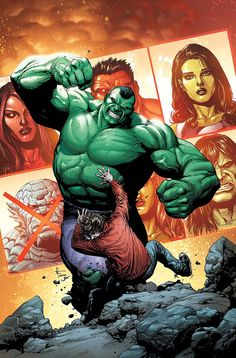 What happens when the Hulk smartens up and wants to eliminate other Gamma-powered heroes? Incoming writer Gerry Duggan tells us! Marvel Comic Character, Marvel Comic Books, Comic Book Characters, Marvel Characters, Comic Books Art, Comic Art, Book Art, Hulk Marvel, Hulk Comic