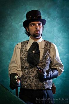 Steampunk Outfit - Contemplation with pipe Best Picture For Steampunk Fashion illustration For Your Taste You are looking for something, and it is going to tell you exactly what you are looking for, a Steampunk Men, Steampunk Wedding, Victorian Steampunk, Steampunk Costume, Steampunk Clothing, Steampunk Fashion, Cosplay Costumes, Halloween Costumes, His Dark Materials