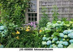 Merveilleux Nantucket Garden