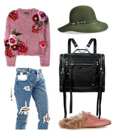 Sunday Funday by svgsemma on Polyvore featuring polyvore, fashion, style, Dolce&Gabbana, ASOS, Gucci, McQ by Alexander McQueen, Betmar and clothing