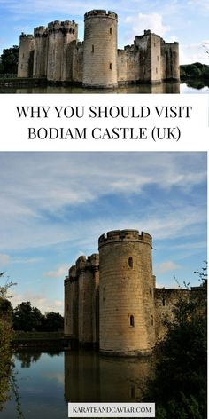 Why you should visit the Bodiam Castle in East Sussex | Castles in the UK