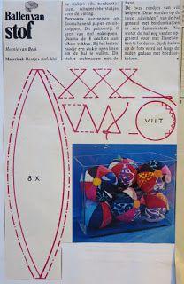 Digitale Bibliotheek: 17jan16 Several creative crafts - a textile ball- ...