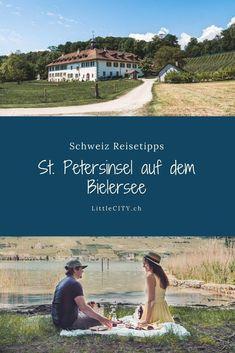 St. Petersinsel auf dem Bielersee: Schöner Auflug in der Schweiz mit dem Schiff Coast, Wanderlust, Water, German, Travel, Group, Mini, Europe, Day Trips