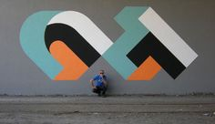 """""""modern"""" graffiti. More of this, please!! Artist is CT from Torino"""