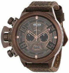 ab7c1cc92c7ee Welder Men's Quartz Watch 3602 K24 3602 with Leather Strap Oversized  Watches, Quartz Watch,