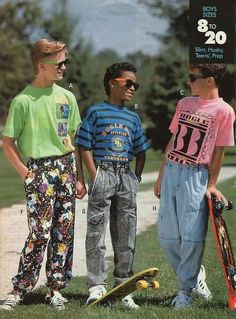 Anything the company Bugle Boy ever made. | 33 '90s Trends That, In Retrospect, Maybe Weren't Such A Great Idea
