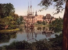 Tivoli Gardens in Copenhagen, Denmark - one of the oldest amusement parks.
