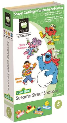 Cricut® Sesame Street Seasons Cartridge