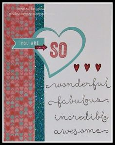 Gina's Little Corner of StampinHeaven: You're The Bomb Blog Hop #C1617YoureTheBomb-OperationSmile #Heartstrings #Puffies #Artbooking
