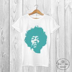 Jimi Hendrix T-shirt Rock star shirt Art T-shirt Unisex