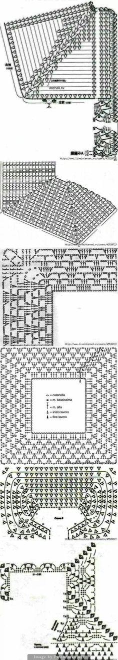 Raglan patterns (yoke)