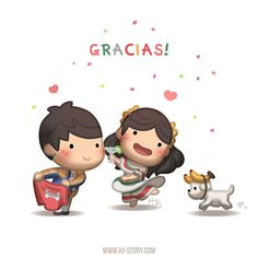 "Check out the comic ""HJ-Story :: Gracias!"" http://tapastic.com/episode/130903"