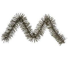 "9' x 10"""" Vienna Twig Artificial Christmas Garland - Unlit"