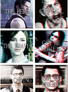 The Evil Within trio.