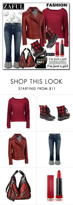 """Zaful:Black Friday & Biggest Sale"" by diamond-mara ❤ liked on Polyvore featuring Jambu, Wilsons Leather, Frame, Loewe and Max Factor"