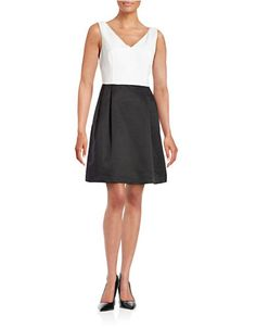 Women's | Women's | Two Tone Fit-and-Flare Dress | Hudson's Bay