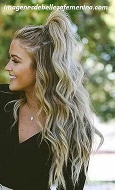 Hat jemand schnelle Partyfrisuren für lange Haare 2019 - New Site Does anyone have quick party hairstyles for long hair 2019 - Party Hairstyles For Long Hair, Cute Hairstyles For Teens, Teen Hairstyles, Cute Down Hairstyles, Half Pony Hairstyles, Hairstyle Ideas, Hairstyles For Going Out, Wedding Hairstyles, Simple Curled Hairstyles