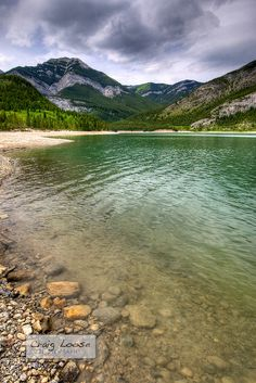 [][][] Barrier Lake, Kananaskis, Alberta, Canada. I will be in this beautiful place later this summer learning all about field ecology.