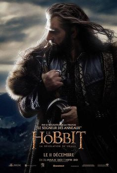 French Hobbit poster