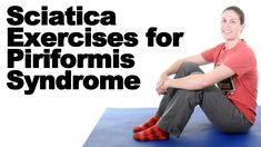 Sciatic pain can be caused by a few different things. These are my 5 favorite exercises for sciatica from a tight piriformis. See more piriformis syndrome st. Sciatic Nerve Relief, Sciatica Pain Treatment, Sciatica Massage, Sciatica Stretches, Sciatic Pain, Sciatica Symptoms, Hip Pain, Back Pain, Treating Sciatica