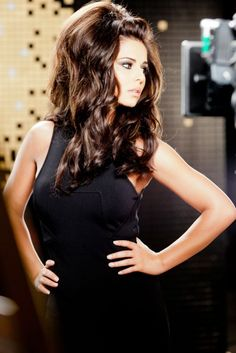Cheryl Cole returns to L'Oreal Elnett ads with huge hair