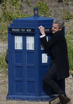 [Peter Capaldi - Doctor Who] Having consciously steered clear of spoilers -- including the leaked scripts and workprints of episodes -- we don't know if this is from the show or just for fun. But it's great. More 'Doctor Who' here: http://www.peekyou.com/blog/tag/doctor-who//?utm_source=googleplus&utm_medium=social&utm_campaign=doctorwho-07_20_2014