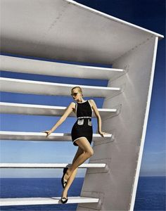FAY for LADIES Italy – May 2013.   Women's Spring Summer 2013 collection – Stretch piquet minidress