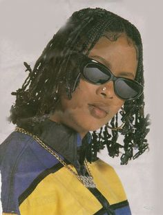 Da Brat w. Her barettes . Black Girl Aesthetic, 90s Aesthetic, Afro, Black Girl Magic, Black Girls, Black Women, Hip Hop Fashion, 90s Fashion, Fashion Black