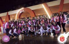El ingreso del grupo #lilaF16 con toda la magia de #enjoy15! Comenzó la #temporadaEnjoy15!