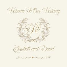 $15 for 20 #Monogram #Wedding #WelcomeBag #Label by http://www.bestwelcomebags.com