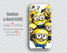 yellow iPhone 5 Case rubber soft case. IPhone 5 case by case7style, $6.98