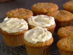 Carrot Cupcakes Recipe | Cooking | How To | Martha Stewart Recipes