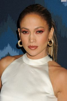 Singer/actress/judge Jennifer Lopez attends Fox All-Star Party at Langham Hotel on January 17, 2015 in Pasadena, California.