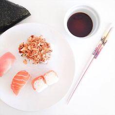 #Lunchtime  #horadelacomida #sushi @sofiaparapluie