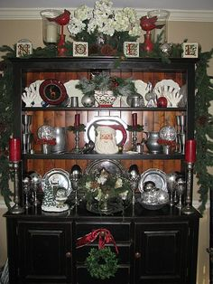 Peachy 152 Awesome Hutch Decorating Images In 2019 Dish Sets Complete Home Design Collection Barbaintelli Responsecom
