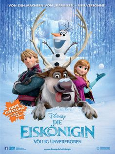 Die Eiskönigin - Völlig unverfroren – 3D (Frozen) ★★★★★★★★★★★★★★★★★★★★★★★★★ ► Mehr Infos zum Film auf ➡ http://www.disney.de/eiskoenigin & im O-Ton auf ➡ http://movies.disney.com/frozen - und wir freuen uns sehr auf Euren Besuch! ★★★★★★★★★★★★★★★★★★★★★★★★★ Trailer in unserem Kanal ➡ http://YouTube.com/VideothekPdm - wir wünschen BESTE Unterhaltung! ◄ ★★★★★★★★★★★★★★★★★★★★★★★★★ #DieEiskoenigin #Frozen #Animation #Abenteuer #Fantasy #Musik #Film #Verleih #VCP #Videothek #Potsdam #DVD #Bluray #3D