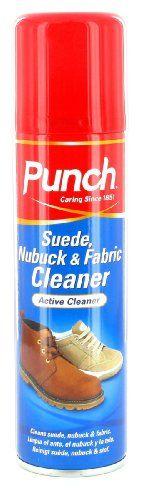 Punch - Suede, Nubuck & Fabric Cleaner - [UK & IRELAND]